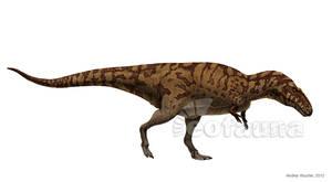 Acrocanthosaurus atokensis by EoFauna