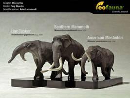 Some awesome proboscidean sculptures