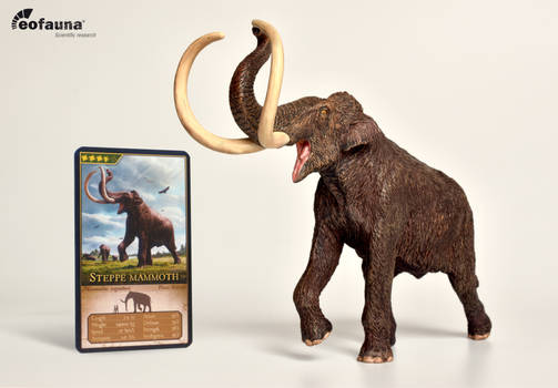 Eofauna Steppe Mammoth PVC figure