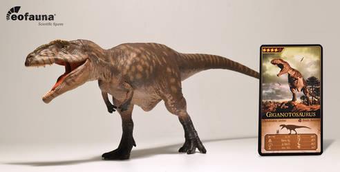 Eofauna Giganotosaurus figure