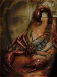 Living Scorpion Tattoo