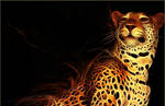 Jaguar Fractal Wallpaper