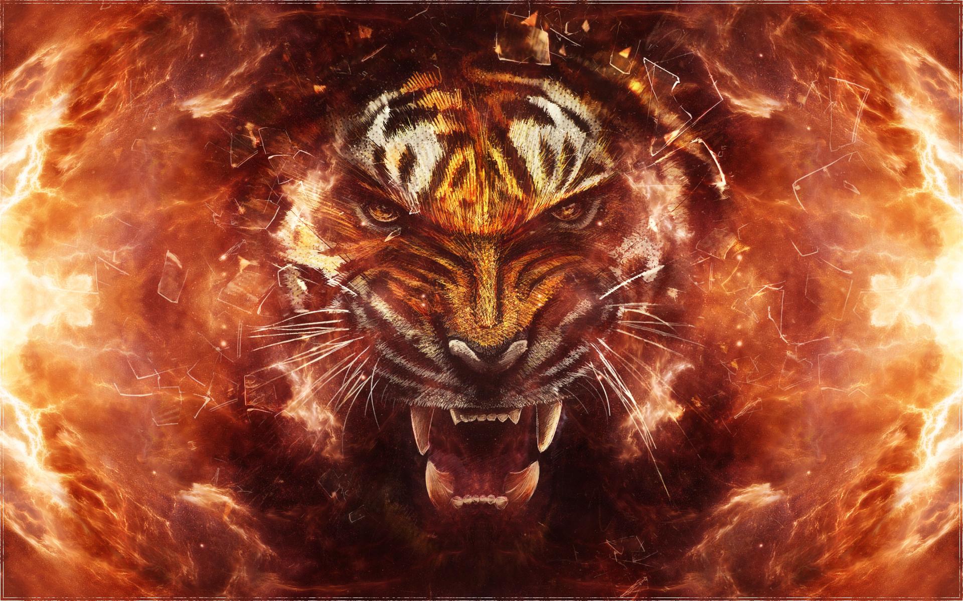 Tiger blast