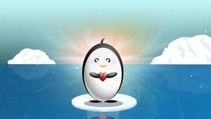 Penguin loves you