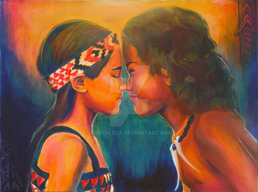 Maori Greeting Hongi: Hongi By Sinitalela On DeviantArt