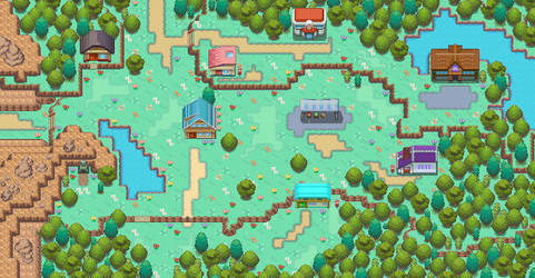Viridian City(Finished, but subject to change) by TBC-Gen0