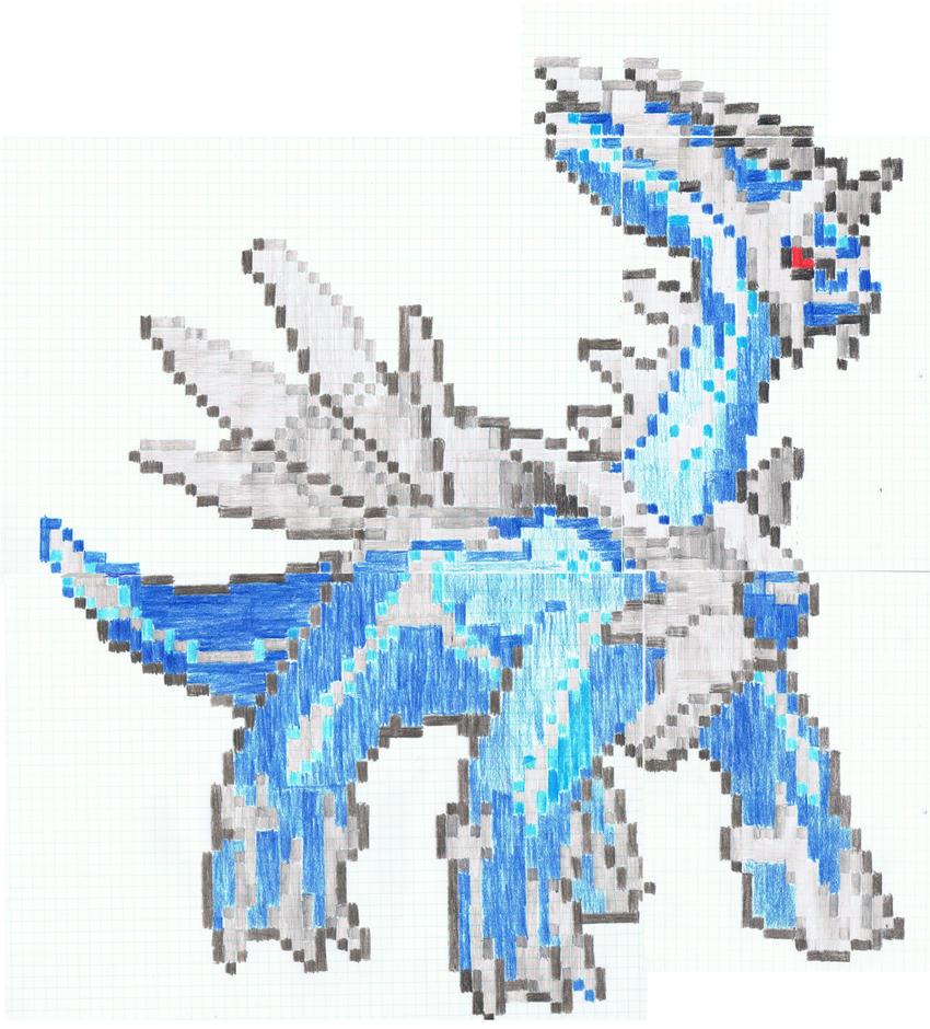 Pokemon Dialga Pixel Art Images Pokemon Images