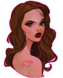 Portrait commission - Johanna by Amethylia