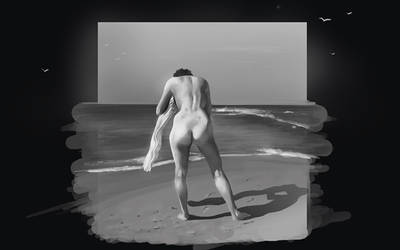 Beach butt practice by Fstate