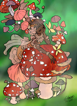 Mushroom Monster (CMC Color Contest Entry)
