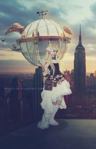 Chobits-Steampunk by kazelisa