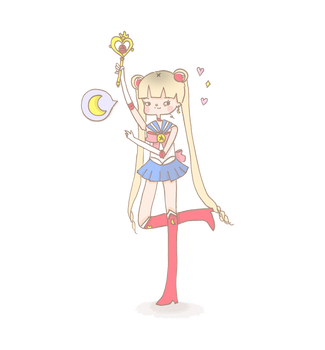 Sailor Moon by kaze9th