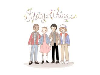 Stranger Things by kaze9th