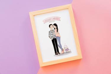 Happy couple by kaze9th
