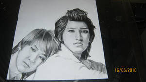 Kibum and Kiseop from U-Kiss by Kighto