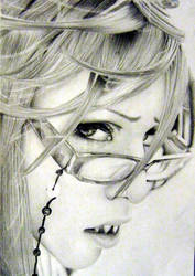 Portrait - Grell Ensnaring by Kighto