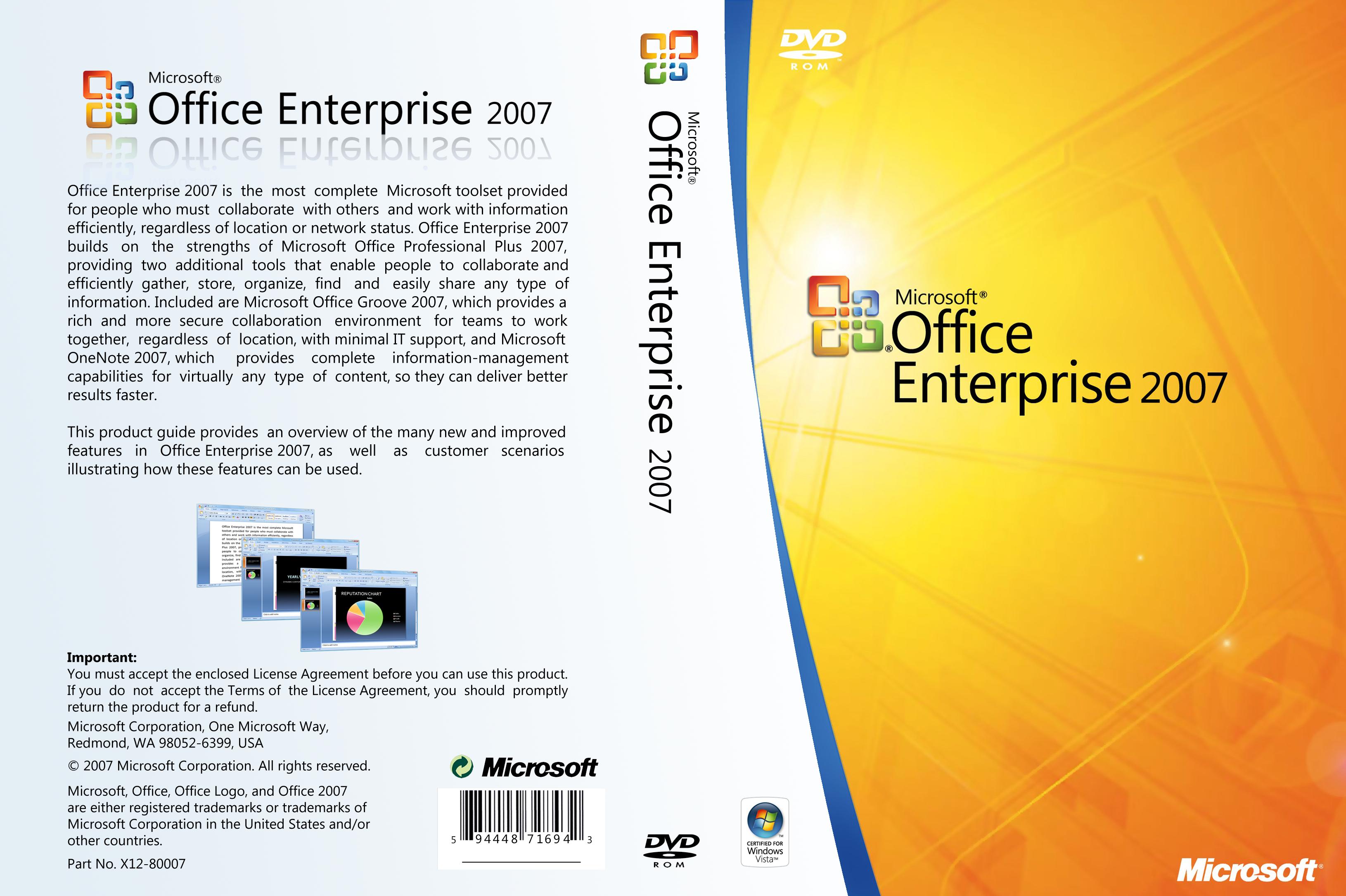 Office Enterprise 2007 Cover by zawir