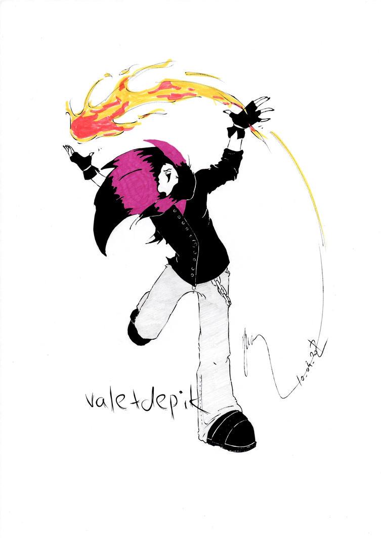 Peter 'Violet' Rahlan by Valetdepik