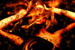 Burning Demon by x-ReaperLadyDeath-x