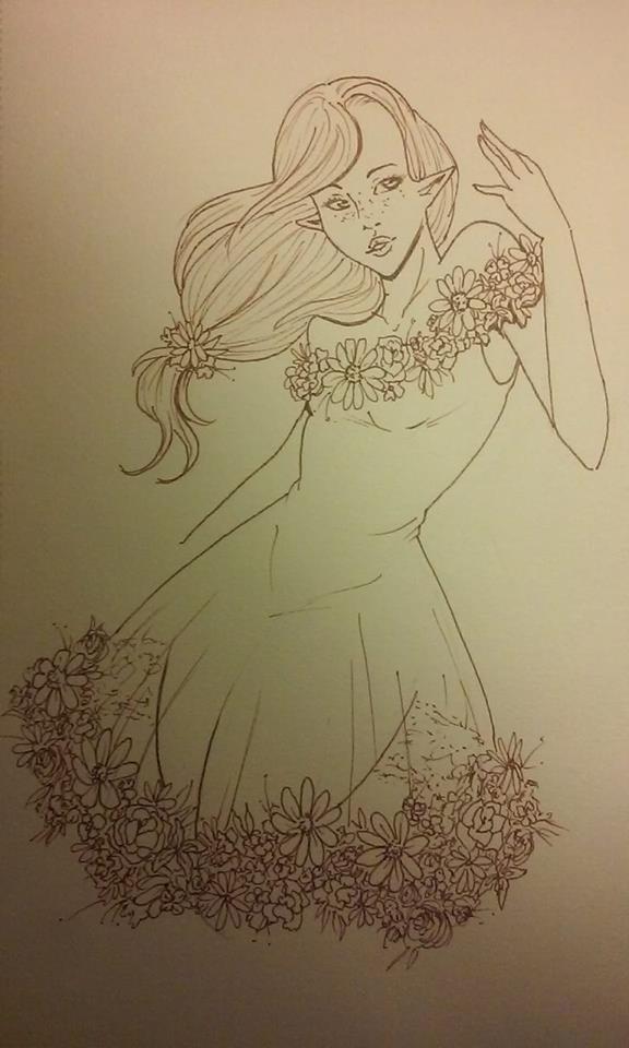 Flower Faerie by Miss-Neko-Noir
