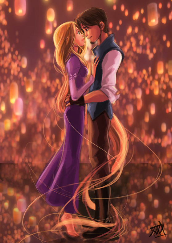 tangled wallpapers hd romantic