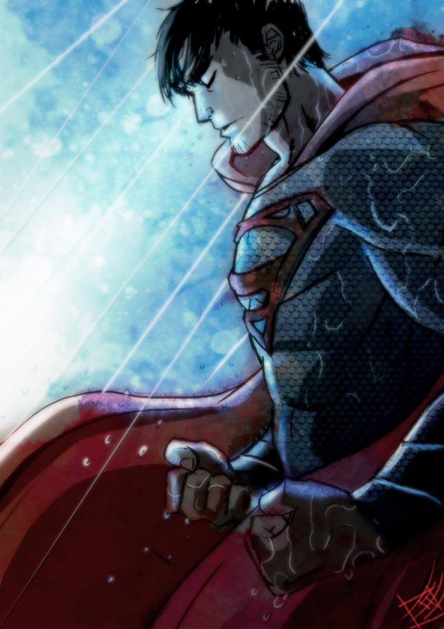Man of steel by zearz