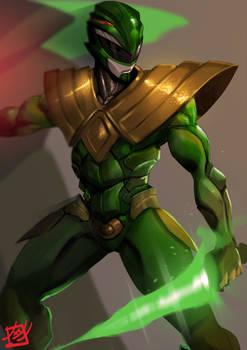 Power Rangers : The Green Dragon