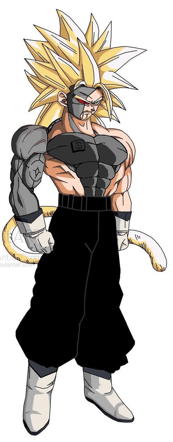 Super Saiyan Nabgeta: The Strongest Saiyan by MikhailSaiya