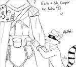 Ezio and Sly Cooper - For Balsa 123