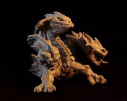 Hydra sculpt by Firebli9ht