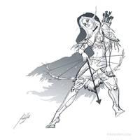 Sylvanas Windrunner by Firebli9ht