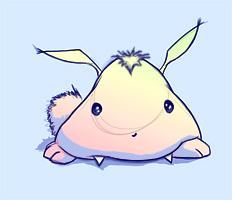 Vampy marshmallow bunny by Firebli9ht