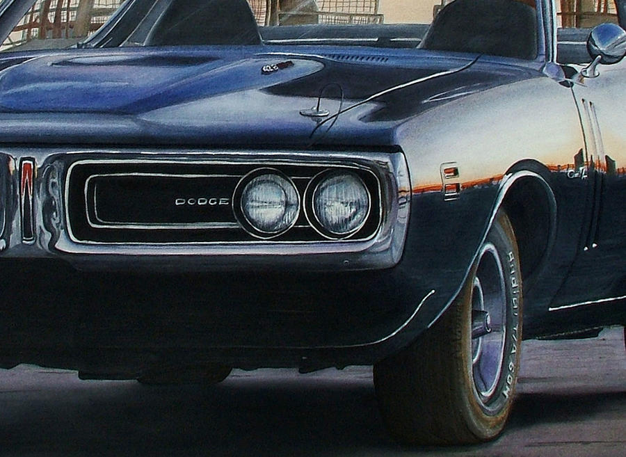 71 Charger Detail