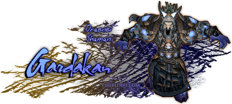 Draenei Shaman Sig by Firebli9ht