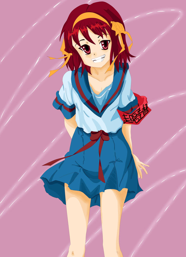 Haruhi Color by sketch7778