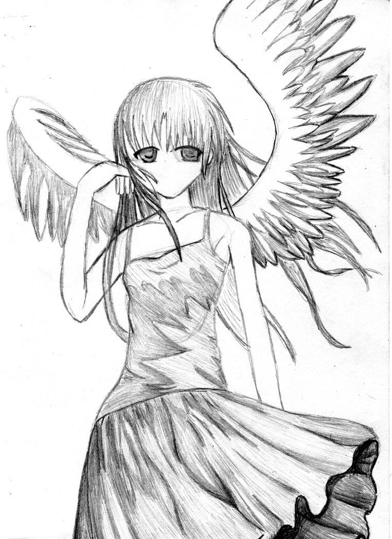 Tachibana Kanade by sketch7778