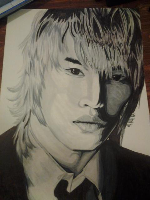 Kim JaeJoong by sketch7778