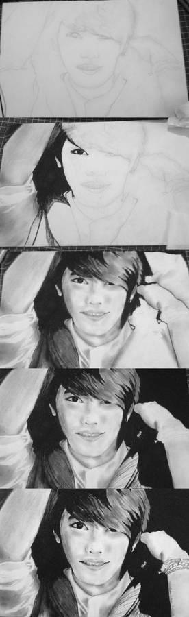JaeJoong Portrait WIP