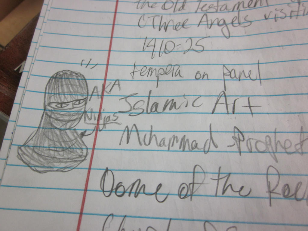 Islam is Ninjas by Andrea-Perry