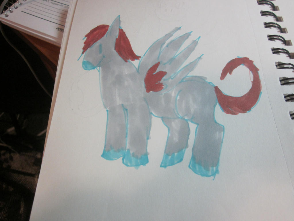 Pegasus pony by Andrea-Perry