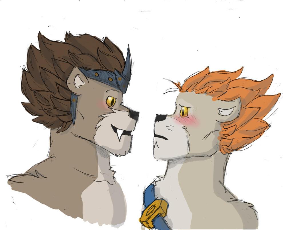 Lion Boyz by SteamMouse on DeviantArt