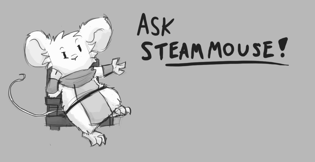 Asks are open! by SteamMouse