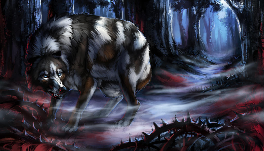 Snarly Spooky Forest Ych 203 V2 By Kfcemployee-dbl by itskashmirfam