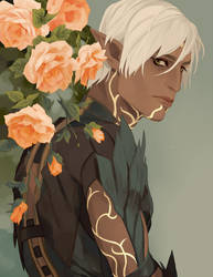 [Dragon Age] Fenris by paexiedust