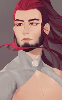 [Headshot] Crimson Hair