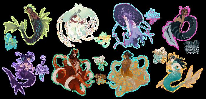 Mermaids! [OPEN]