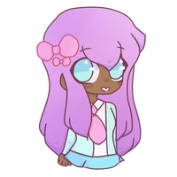 Pastel girl by LibiiArts