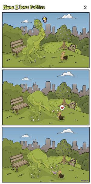 A Dinosaur in the City page 2