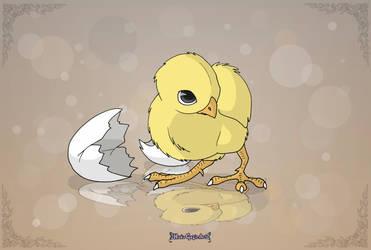 Adorable Chicken by Almairis