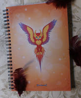 Phoenix Notebook by Almairis